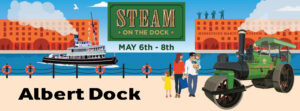 Steam on the Dock - Albert Dock - Website Photo